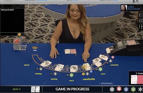 блэкджек онлайн в интернет казино